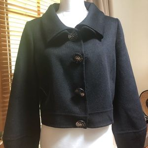 Black Oscar de la renta jacket